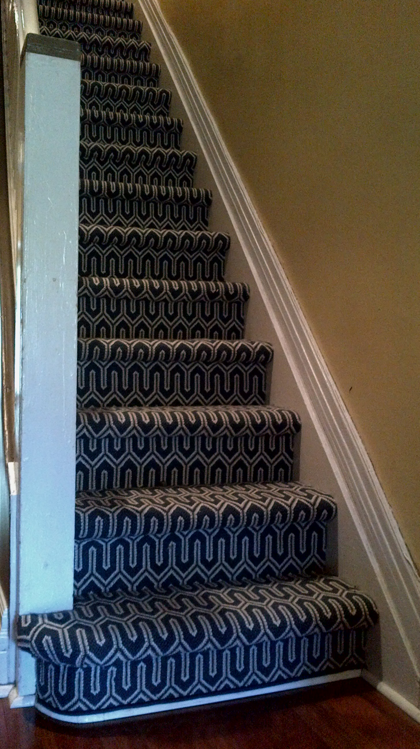 Geometric Stair Runner Love Your Stairs