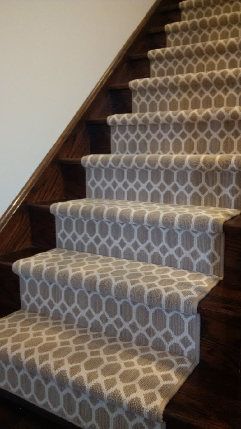 Carpet design for stairs Vaughan