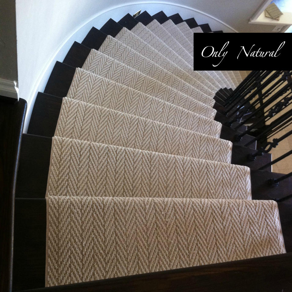 Geometric Stair Runner - Love Your Stairs