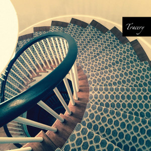 Curved Staircase carpet Installation Auroro