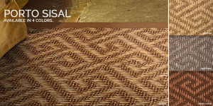Porto Sisal Rug and stair runners
