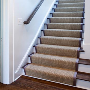 natural sisal for stair runner