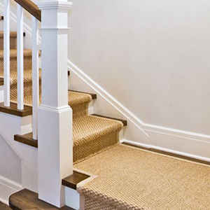 sisal carpet for stairs and landing