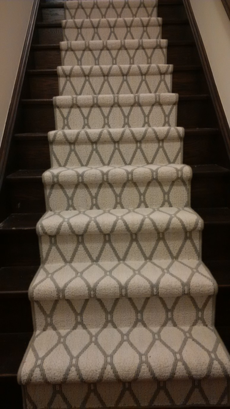 Diamond Design Carpet design for stairs