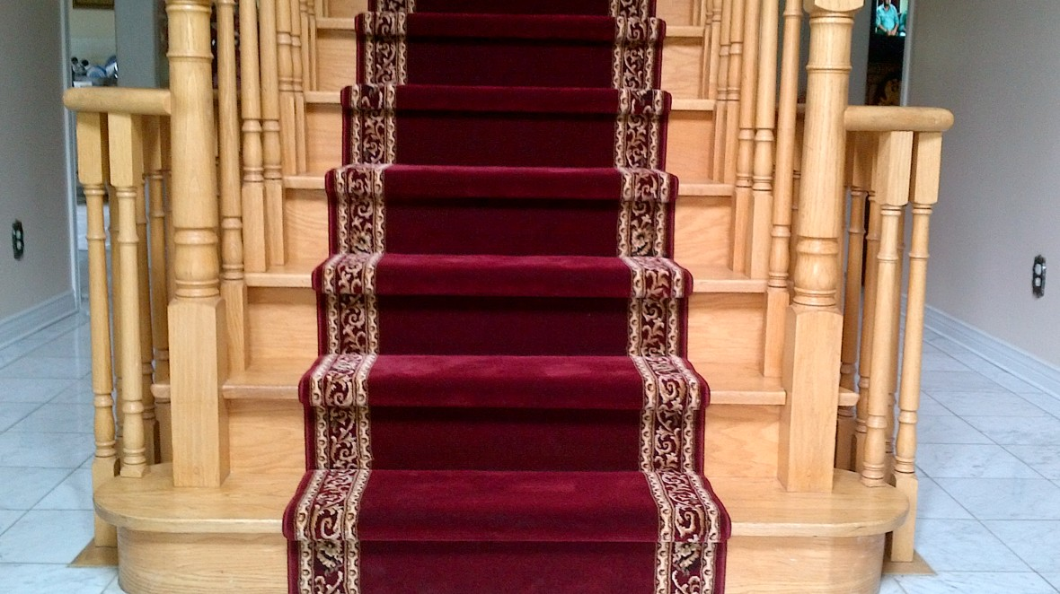 Red Carpet runer for stairs